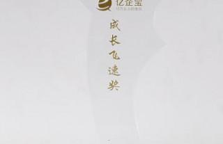 恭贺山东兆通网络科技有限公司获得亿起宝成长飞速奖